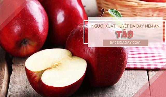 loại hoa quả người xuất huyết dạ dày nên ăn