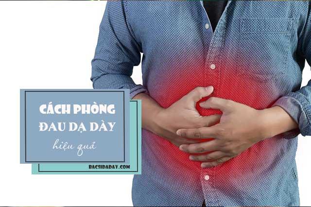 Cách phòng ngừa bệnh đau dạ dày