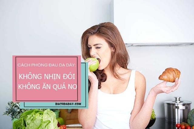 cách phòng và chữa bệnh đau dạ dày