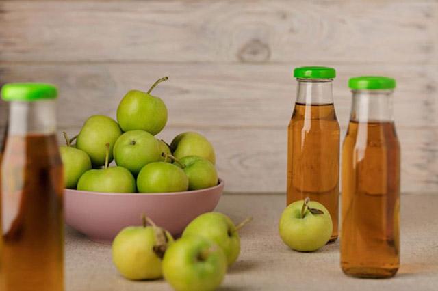 cách giảm acid da dày bằng giấm táo