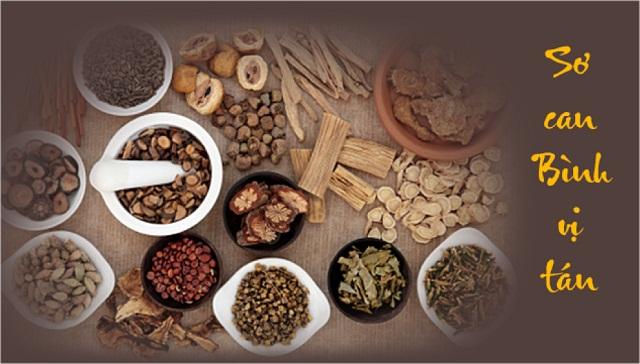 bài thuốc Sơ can Bình vị tán điều trị đau dạ dày hiệu quả