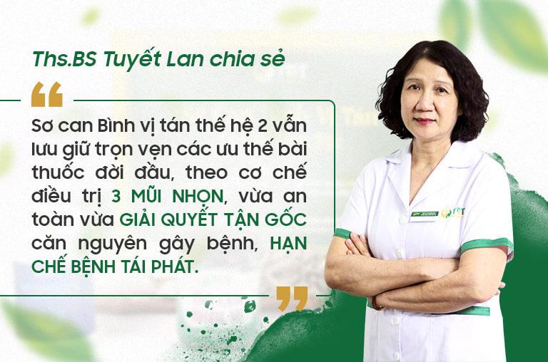THS.BS -Tuyết Lan chủ nhiệm đề tài nghiên cứu chia sẻ