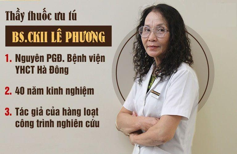 BS Lê Thị Phương, GĐ Trung tâm Thừa kế và Ứng dụng Đông y Việt Nam